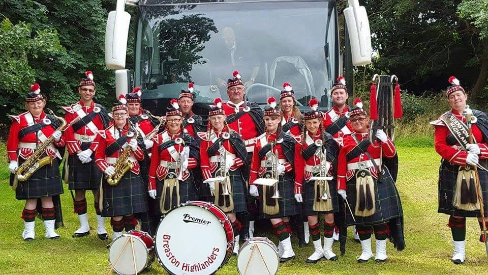 breaston scottish highlanders band