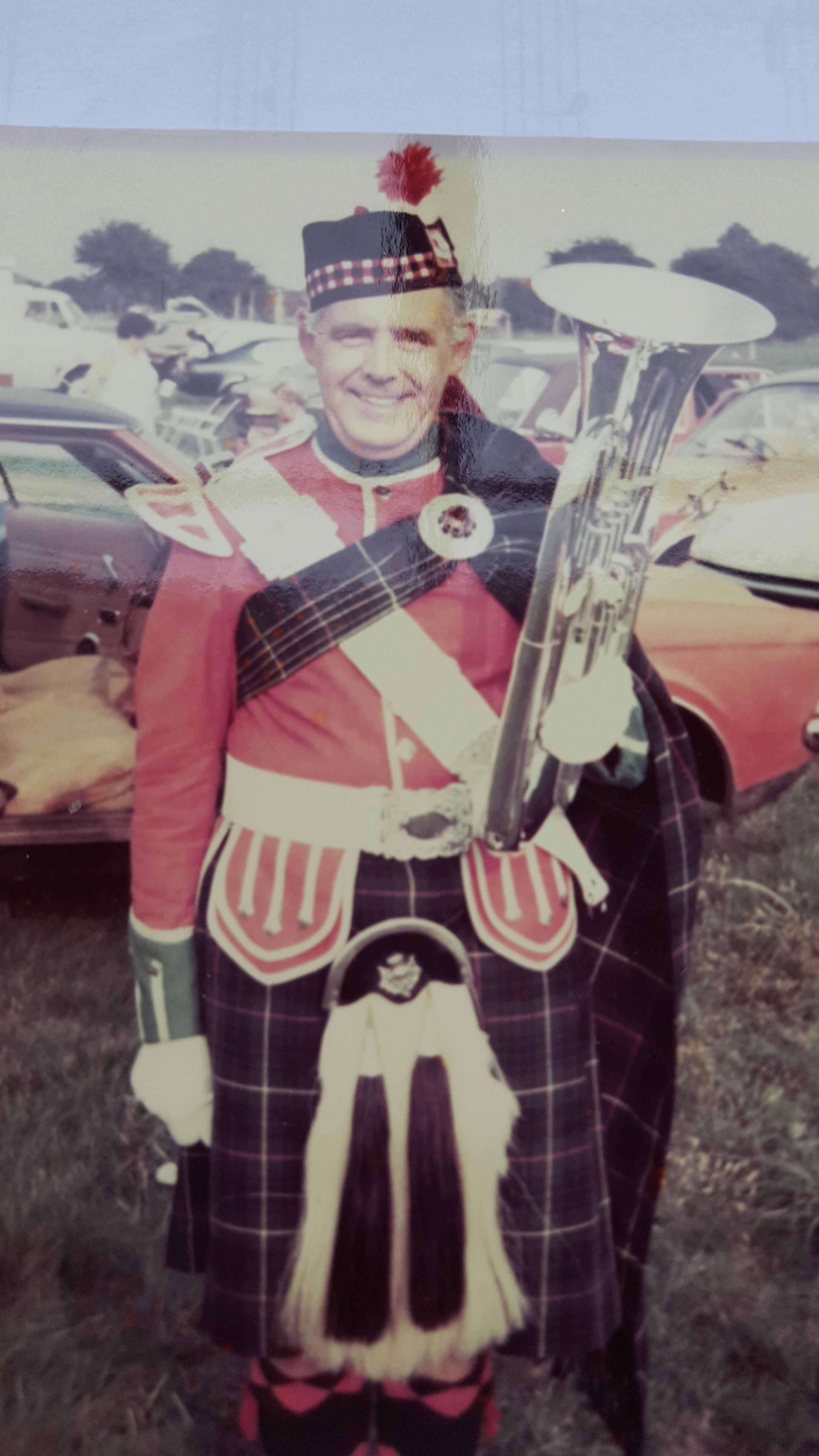 bert breaston highlanders band