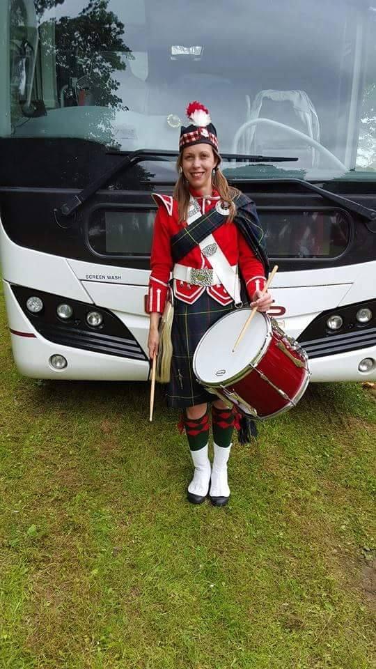 kirsty breaston highlanders band