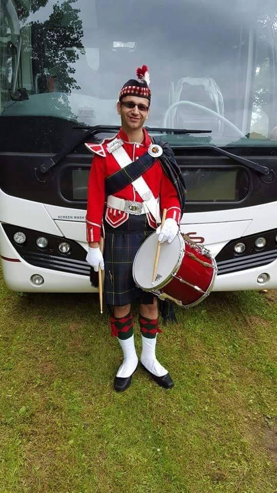 luke breaston highlanders band