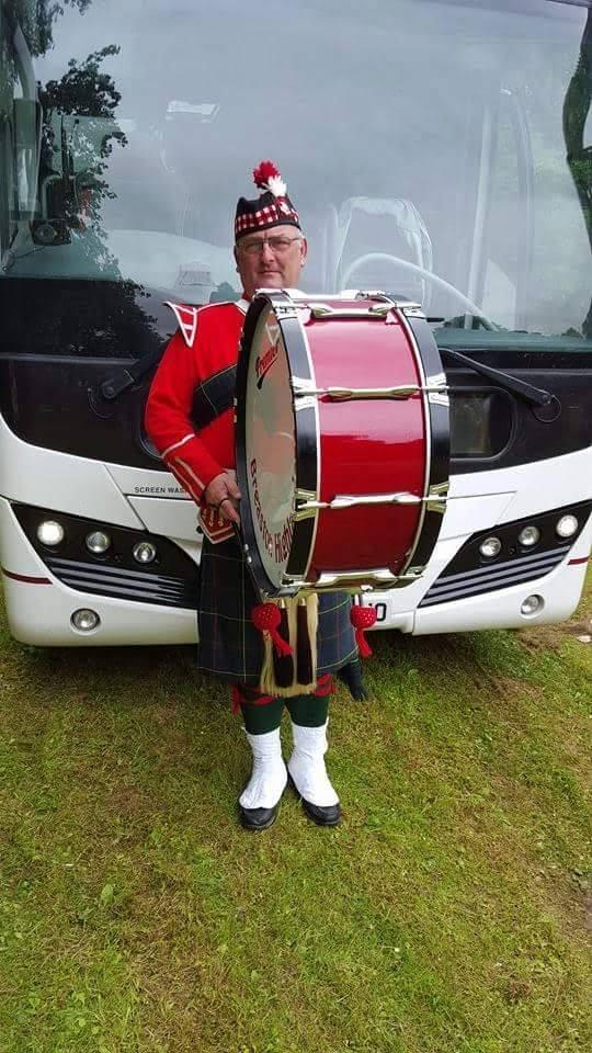 paul breaston highlanders band