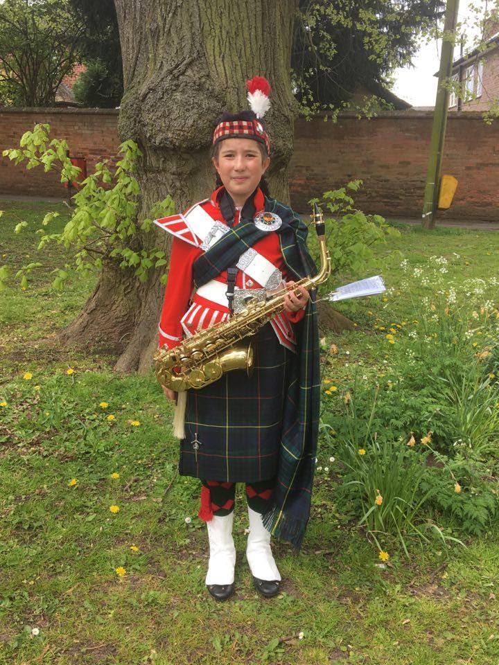 breaston highlander band