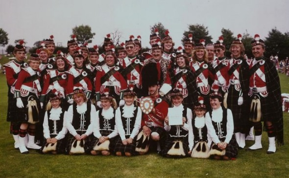 Breaston Highlanders Band awards