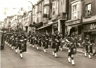 breaston highlanders band history