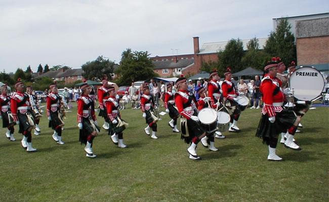 breaston highlanders band